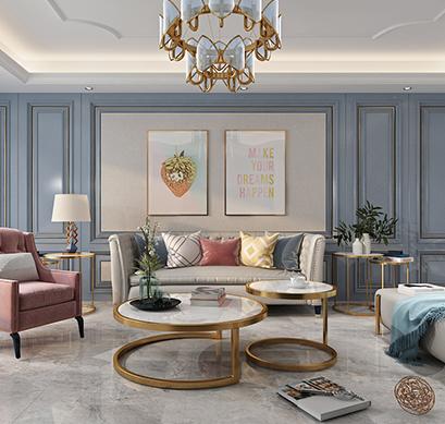 美的时代城136  法式轻奢  3居室